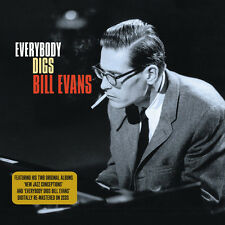 Bill Evans EVERYBODY DIGS BILL EVANS / NEW JAZZ CONCEPTIONS New Sealed 2 CD