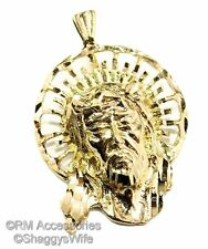 Face of Jesus Christ Pendant / Charm EP Gold Plated with a Lifetime Guarantee
