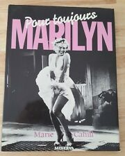 RARE FRENCH BOOK MARILYN MONROE POUR TOUJOURS BY MARIE CAHILL