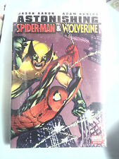 ASTONISHING SPIDER-MAN  WOLVERINE (Aaron / Kubert) Hardcover marvel
