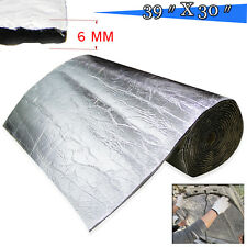 "30""x39"" Sound Insulation Proofing Deadener Mat Car Noise Control Dampening 6mm"