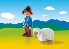 Playmobil 6974 123 Shepherd With Sheep - New, Sealed