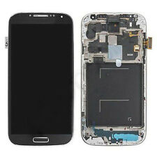 Black LCD Display Touch Screen Digitizer Frame For Samsung Galaxy S4 LTE+ i9506