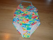Size Medium 7-8 OP Ocean Pacific One Piece Swimsuit Bathing Suit Tropical Beach
