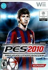 Pro Evolution Soccer 2010 PES (Nintendo Wii, 2009) DISC IS MINT
