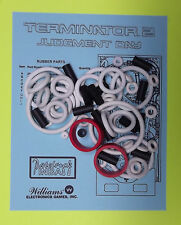 1991 Williams Terminator 2 Pinball Rubber Ring Kit