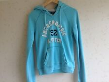 Abercrombie, girls size M, pale blue, hoodie/hooded sweatshirt