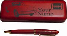 Jensen Healey Rosewood Pen  Case Engraved