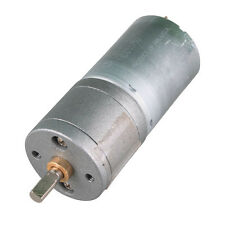 12V DC 60RPM High Torque Gear Box Electric Mini Motor