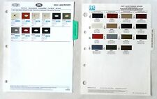 2001 LAND ROVER DUPONT AND PPG   COLOR PAINT CHIP CHART ALL MODELS ORIGINAL
