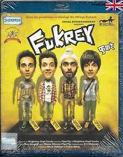 FUKREY - PULKIT SAMRAT / RITA CHADDA - BOLLYWOOD FILM BLU-RAY - FREE UK POST