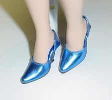 Doll Shoes, 42mm METALLIC NAVY (Royal Blue) Easy to Wear for Sybarite, MA Alex