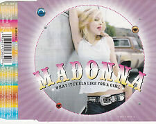 MAXI CD 4T MADONNA WHAT IT FEELS LIKE FOR A GIRL DE 2001
