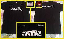 Maglietta NEGRAMARO S.Siro Milano finestra (xxl Steward latitudine 45 Barleyarts