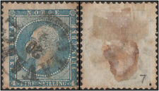 Norway stamps. 1856 -1857 King Oskar I, 1799-1859. 4 Sk. Cancelled