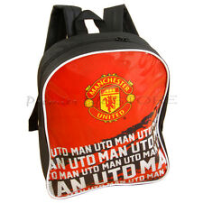 Manchester United Football FC Soccer Impact Team School Backpack Bag New Gift