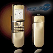 NOKIA 8800 sirocco Gold ORIGINALE CON CODICE IMEI Made in Finland nuovo,garanzia