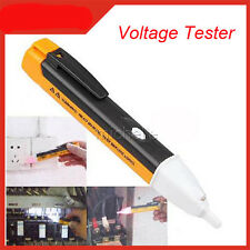 LED Light AC Electric Voltage Tester Volt Alert Pen Detector Sensor 90~1000V BI
