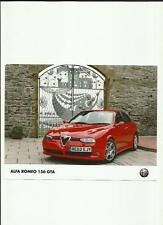 ALFA ROMEO 156 GTA  PRESS PHOTO 'SALES BROCHURE'