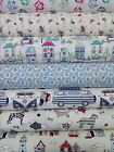 Lifestyle Prints 100% Cotton Crafts Quilting Curtains Designer Fabric