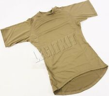NEW Beyond PCU Level 1A Silk Line T-Shirt XSMALL SHORT Coyote Brown SOCOM L1A