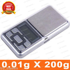 Digital Display 200g Mini Pocket Weight Scale Measurement Weighing Machine