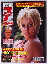 Télé 7 jours 28/10/1995; Nicole Eggert/ Claude François/ Teva Victor/ PPDA