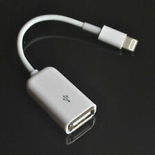(WIN 7) For lightning 8 pin to USB Female OTG Adapter Cable for iPad 4 Mini ,Air