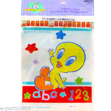 BABY LOONEY TUNES BANNER ~ Birthday Party Supplies Hanging Decorations Alphabet