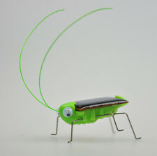 Mini Solar Energy Power Robot Grasshopper Locust Gadget Eco Toy Cool YUKU