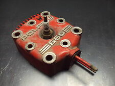 87 1987 POLARIS INDY 650 TRIPLE SNOWMOBILE HEAD CYLINDER SPARK PLUGS COVER