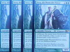 XXX 4x YEVA, DIE BOTIN DER NATUR nature's herald deutsch Magic 2013 M13 (elf) NM