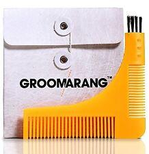 Nueva plantilla de modelado groomarang Barba Estilo y peine herramienta perfecta líneas & S...