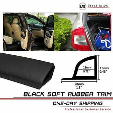 9.5ft Universal Car Door Rubber All Weather Seal Strip Weatherstrip Noise Reduce