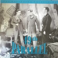 49th Parallel - Laurence Olivier - Criterion Collection - LaserDisc