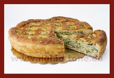 Pizza napoletana di ricotta, spinaci e prosciutto cotto 1,2 kg