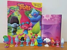 DREAMWORKS TROLLS MY BUSY BOOKS WITH 12 CHARACTER FIGURES+ PLAYMAT BNIB