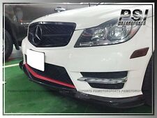 Godhand Style Carbon Fiber Front Lip for 2012+ W204 C250 C300 C350 Sedan Coupe