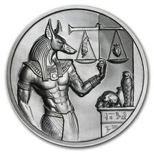NEW ~2~OZ ~ PURE .999 SILVER ROUND ~ ANUBIS ~ ULTRA HIGH RELIEF ~AWESOME~ $52.88