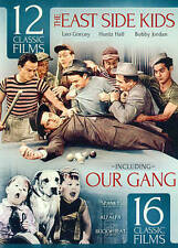 28 Classic Films: The East Side Kids V.1 with bonus Our Gang, Very Good DVD, Dar
