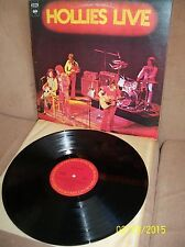 THE HOLLIES Live 1975 Columbia LP PES 90401 EXC-/EXC Canadian Import