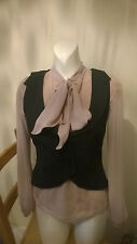 Limited Collection size 12 waistcoat with wool M&S smart for work or interview