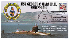 2016, USS George C Marshall, Submarine, SSBN-654, Pictorial, 50th Anniv, 16-126