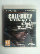 Call of Duty Ghosts PS3 Perfetta 1a Stampa Italiana con manuale