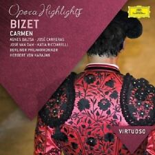 CARRERAS, BALTSA, VAN DAM, KARAJAN, BP- BIZET - CARMEN (HIGHLIGHTS) CD NEU
