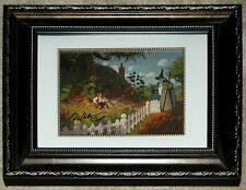 SIGNED! FRAMED TOLKIEN ART ~ GANDALF MEETS BILBO ~ BROTHERS HILDEBRANDT ~ HOBBIT