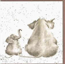 """Country Set Greeting Card by Wrendale Designs Elephant """"Role Model"""""""
