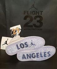 Nike Air Jordan 1 Retro High OG 23LA/Los Angeles Flight 23 819012-130 Sz 10 Ds