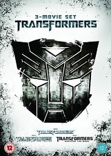 TRANSFORMERS Trilogy Complete DVD Collection Films REVENGE OF FALLEN DARK MOON