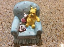 Winnie the Pooh and Piglet Ceramic Coin Bank Disney by Charpente
